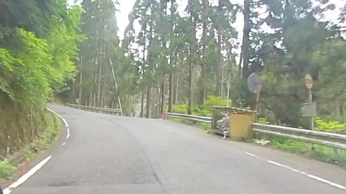 スーパーカブで行く 百井峠 前ケ畑峠 - カメラとおでかけ