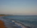 ももさだ海岸と鳥海山