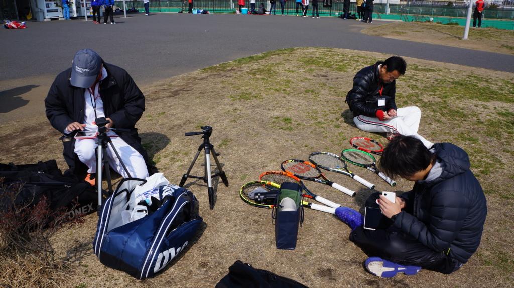 スマートテニスセンサー体験 感想・口コミ大公開2! in テニススクールグランドスラムトーナメント