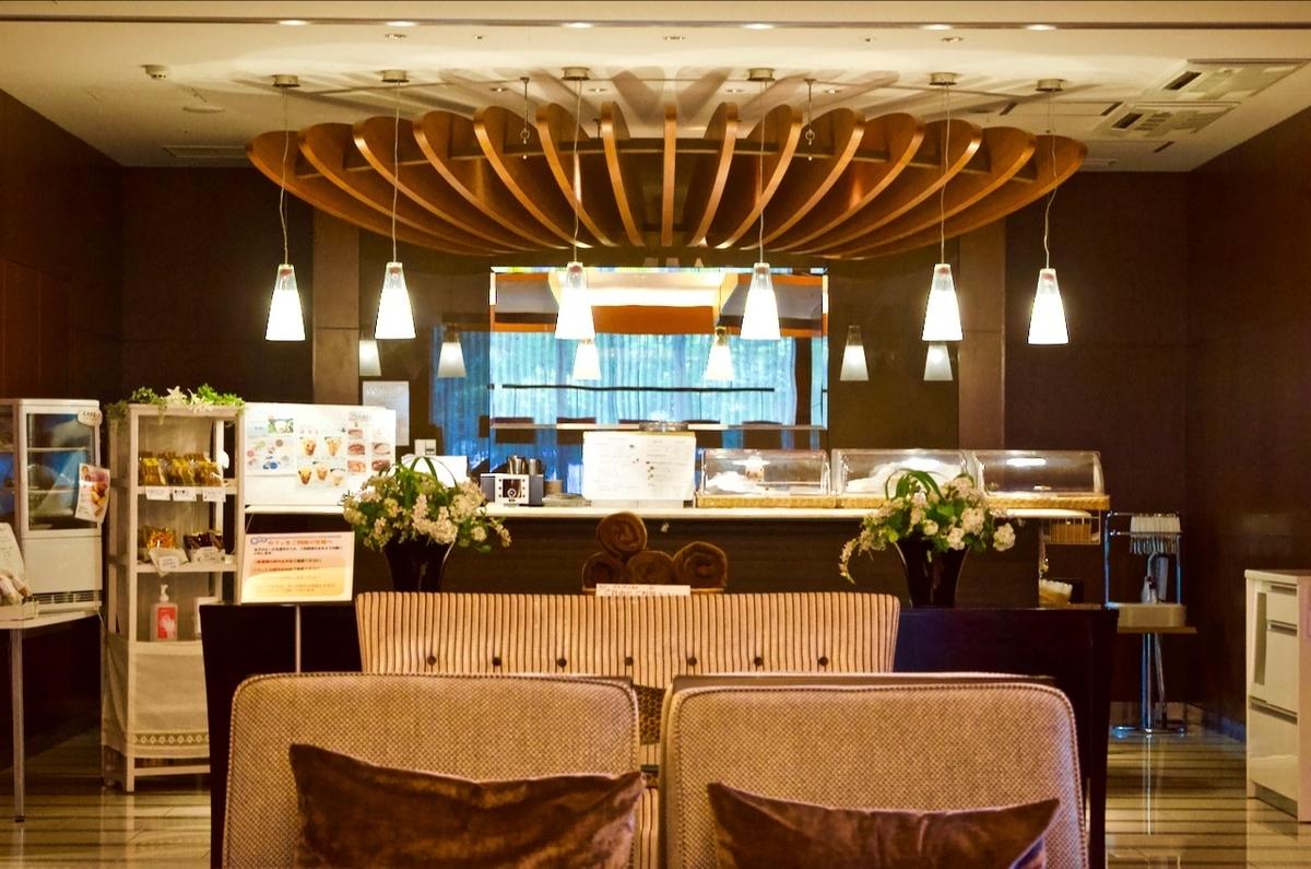 アーバンドック パークシティ豊洲の入居者専用のカフェの写真