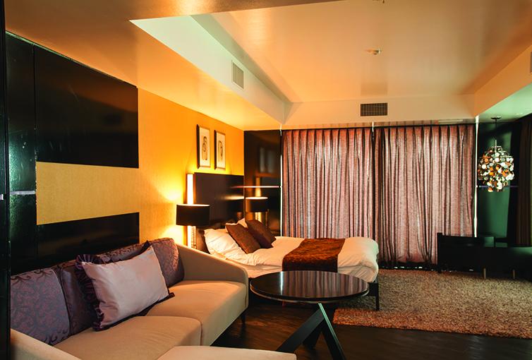 まるでホテルのようなアーバンドック パークシティ豊洲のゲストルームの写真