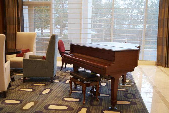 アーバンドック パークシティ豊洲A棟のグランドピアノの写真