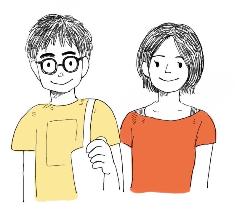 小川夫婦(夫・みき & 妻・れな)