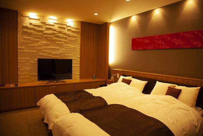 ラグジュアリーなホテルのようなプラウドシティ浦和のゲストルーム