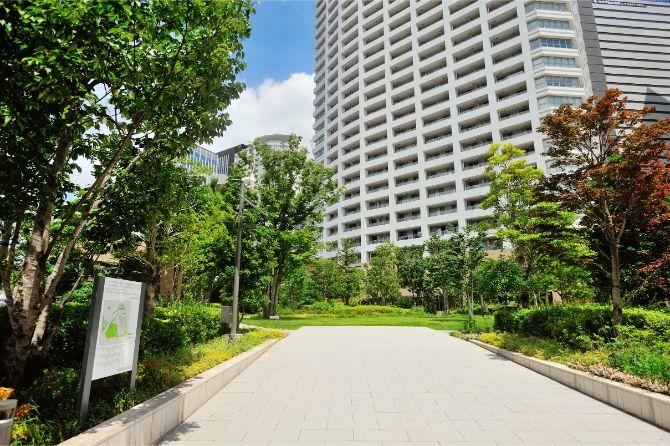 ザ・パークハウス 西新宿タワー60の「結いの森」