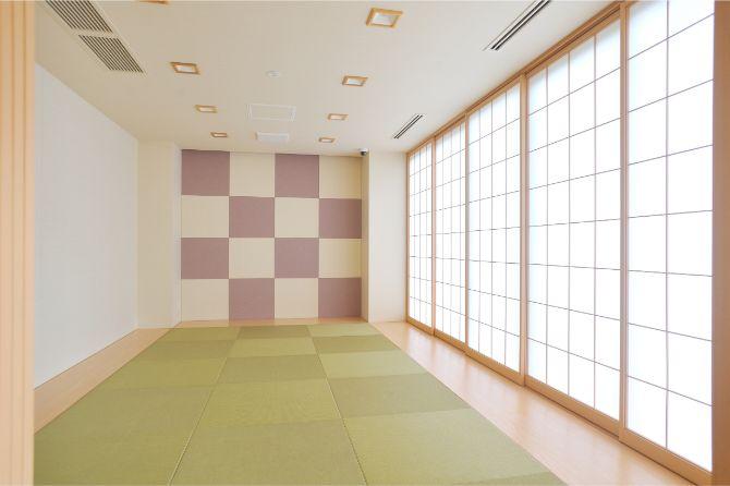 住人の交流の場「ENGAWA」の和室