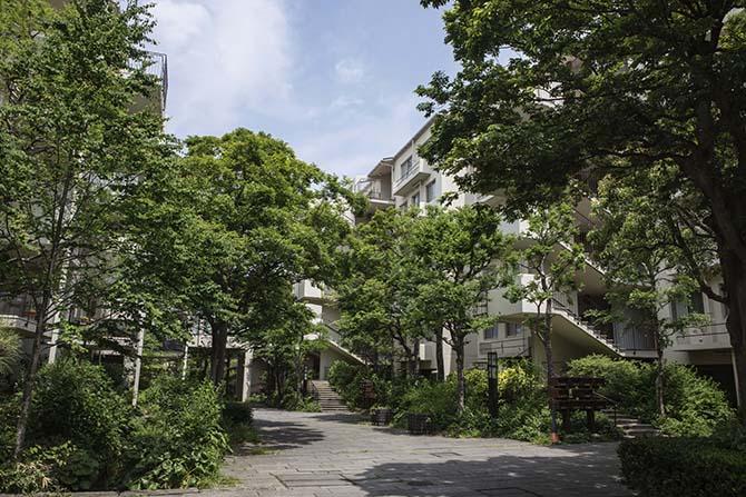 緑豊かな平塚ガーデンホームズ