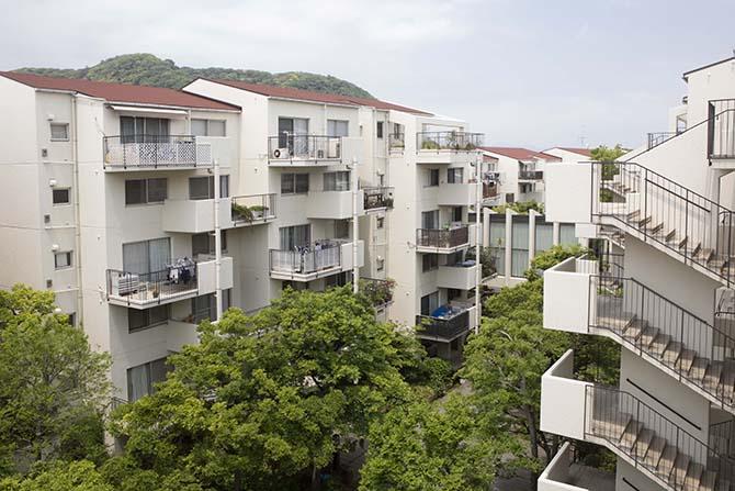 平塚ガーデンホームズの外観