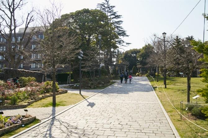 横浜・山手のアメリカ山公園