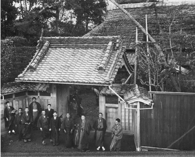 明治初期の旧原家母屋