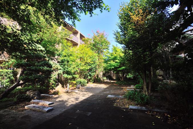 オーベル蘆花公園の敷地