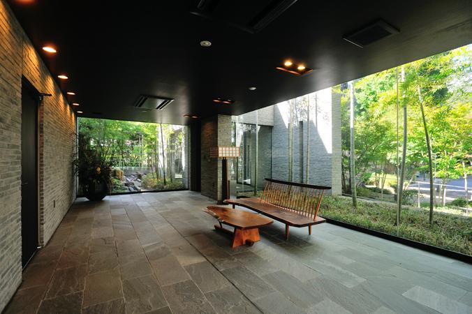 オーベル蘆花公園のラウンジ