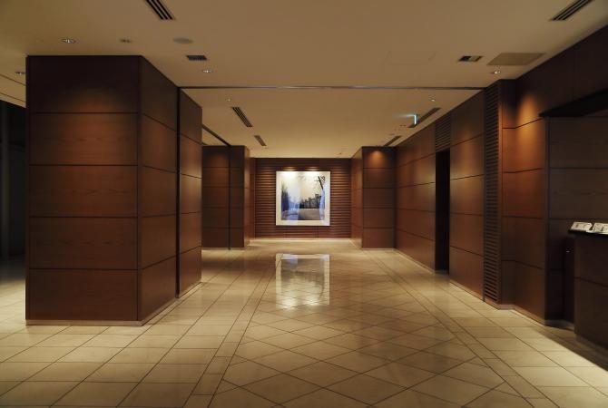 ルクセンブルグハウスの1階ホール