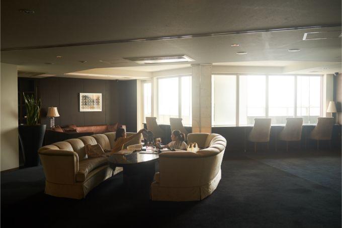 芝浦アイランドケープタワー37階のビューラウンジ
