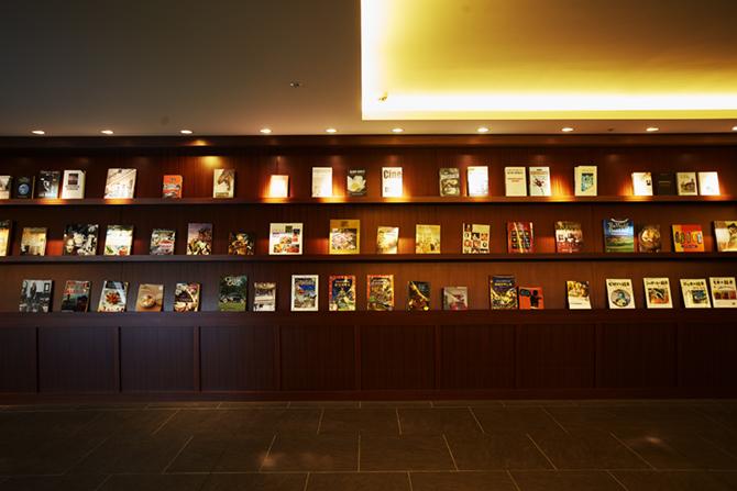 ブランズ横浜4階のライブラリー