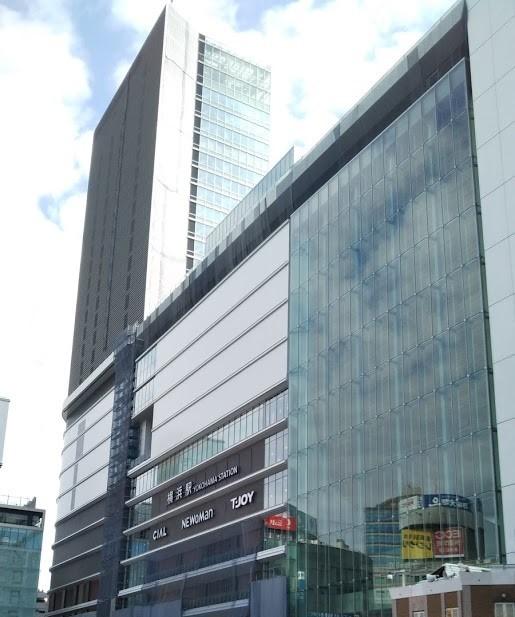 横浜駅西口のJR横浜タワー