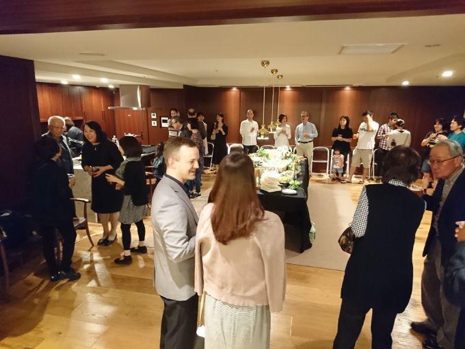 ブランズ横浜の住民交流パーティー