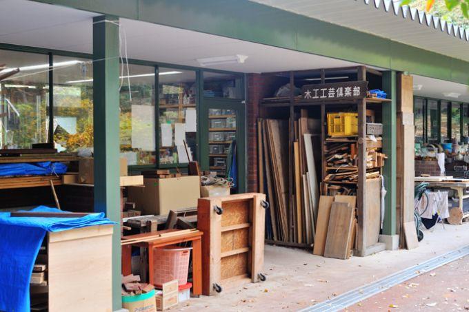 サンシティのカルチャーセンターにある木工室