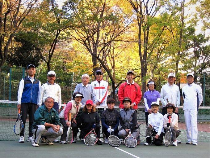 サンシティのテニスクラブのみなさん