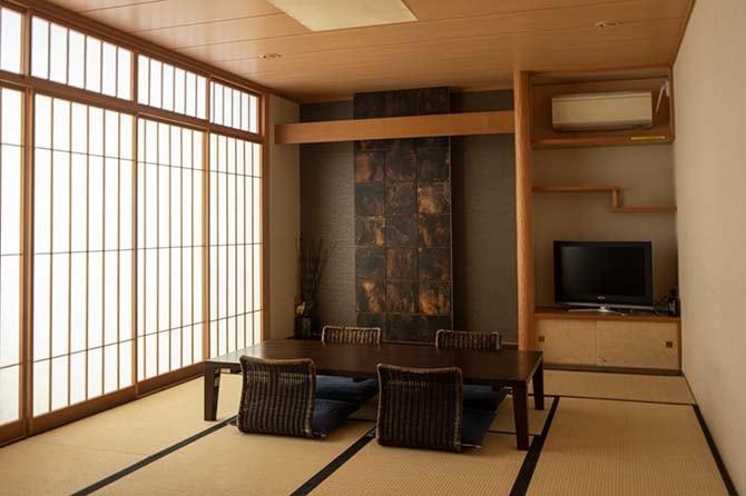 ザ・センター東京の和室のゲストルーム