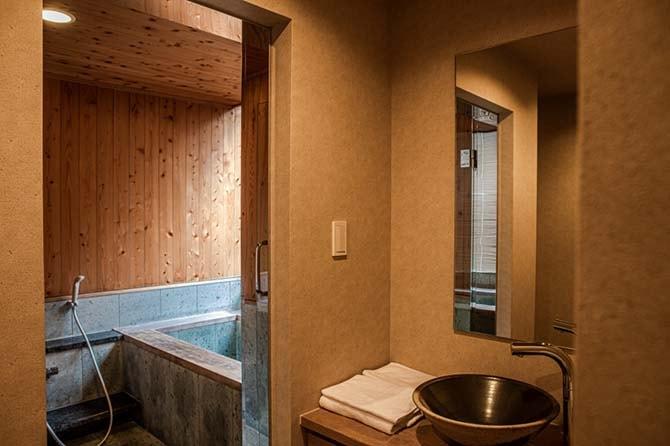ザ・センター東京のゲストルームの浴室