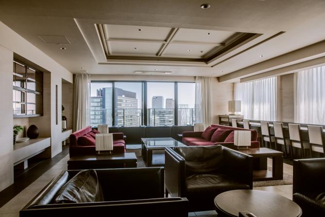 39階にあるビューラウンジの画像