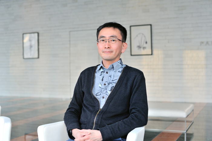 """「ブリリアみらいコミュニティ」の会長、松本さんの画像"""""""