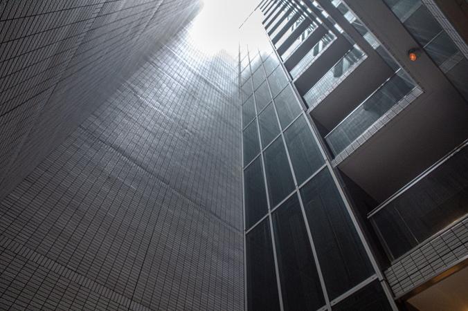 パークハウス楠郷臺内部の吹抜け構造