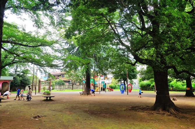 ルネ花小金井の近くにある「たけのこ公園」