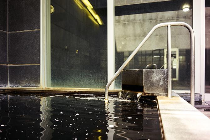 東京サーハウスの黒湯