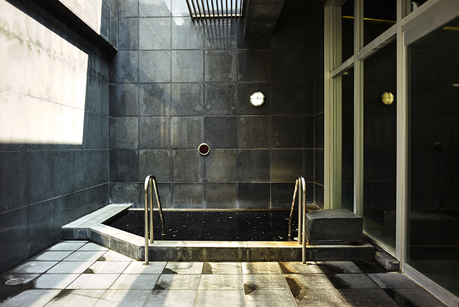 東京サーハウスの露天風呂