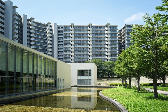 東京サーハウスの敷地内