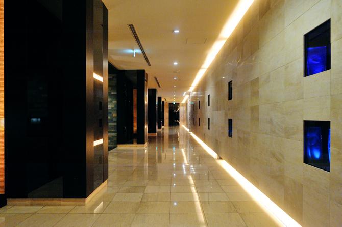 ガレリアグランデの共用廊下