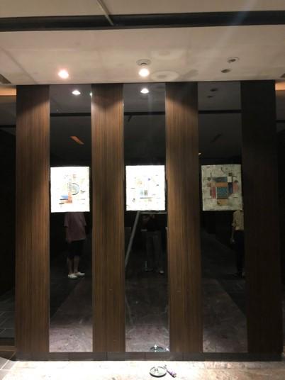 ガレリアグランデの以前のエレベータホール