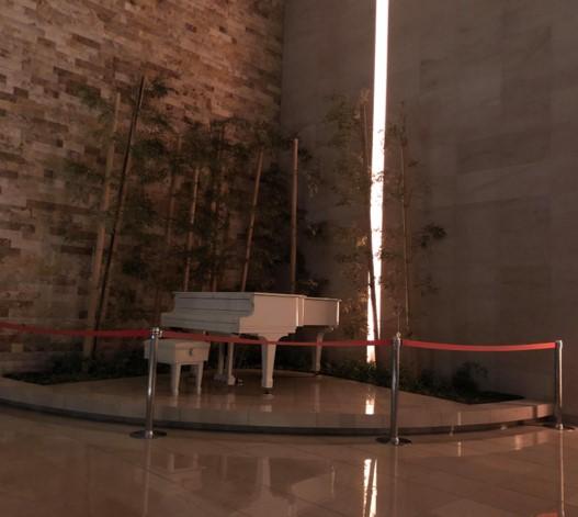 以前のガレリアグランデ1階ラウンジの写真