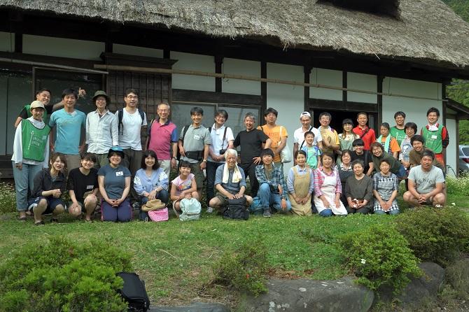 ブラウシア住民と川場村の交流時の写真