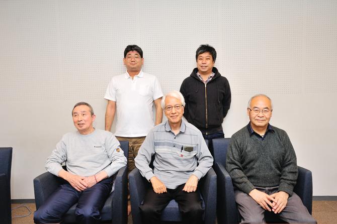 ブラウシアの法人化チームの写真