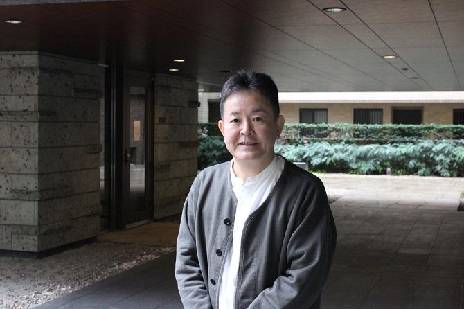 アトラス江戸川アパートメントの管理組合理事長小川さんの写真