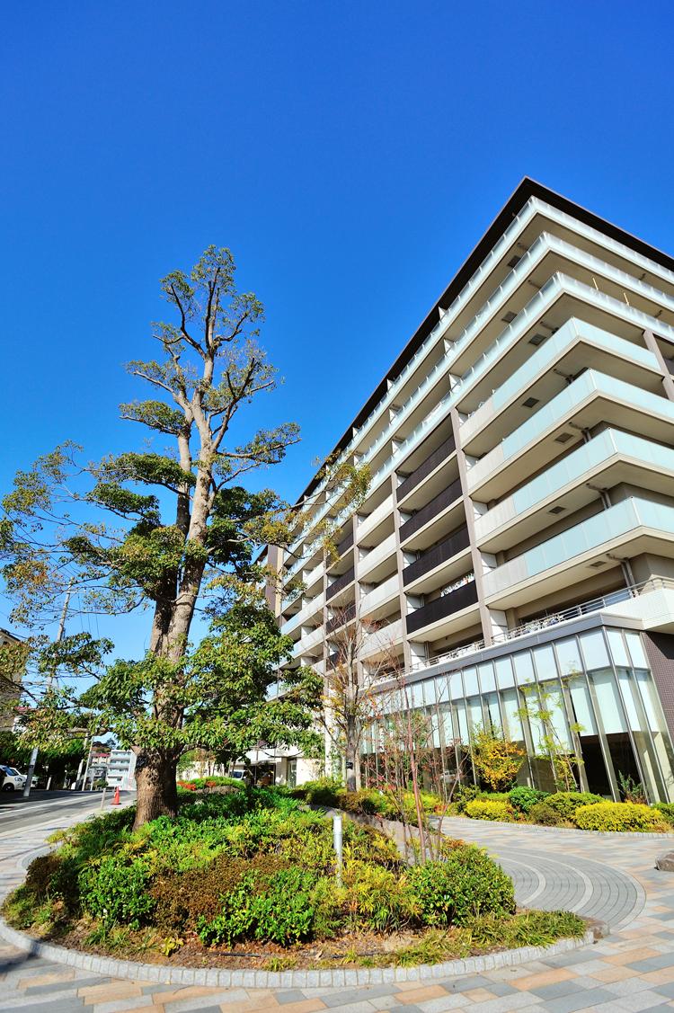 ザ・パークハウス横浜新子安ガーデンの外観