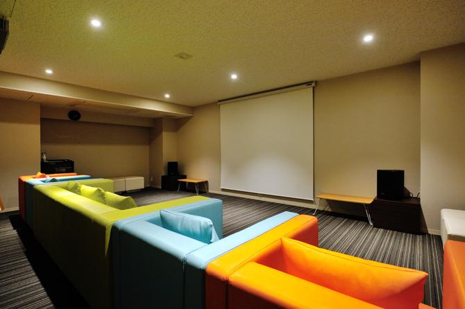ザ・パークハウス横浜新子安ガーデンのシアタールーム