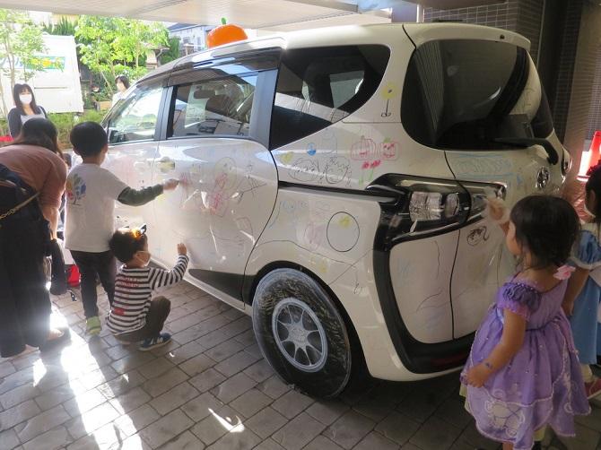 ザ・パークハウス横浜新子安ガーデンのハロウィンイベント