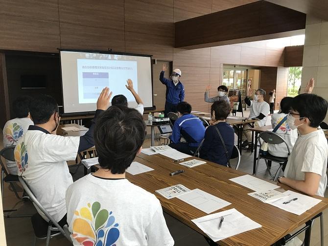 ザ・パークハウス横浜新子安ガーデンの防災訓練