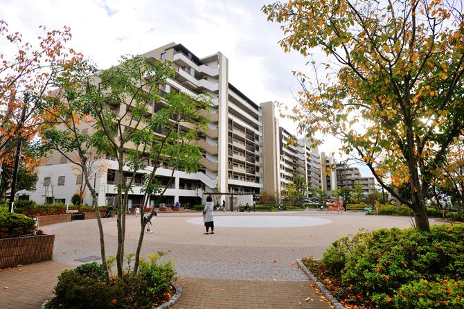 ザ・パークハウス横浜新子安ガーデンのサークルガーデン
