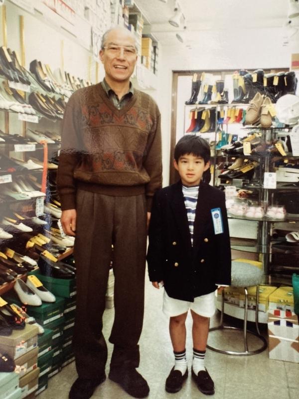 おじいちゃんと中村翔志さん