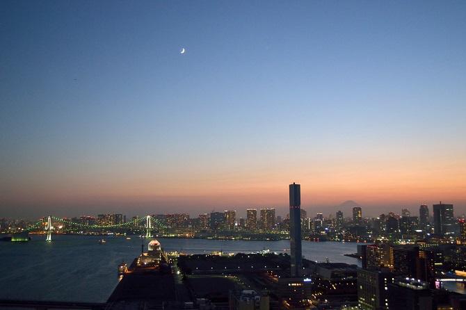 クロノレジデンスの住戸からの眺望の写真