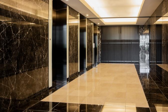 シティタワーズ豊洲 ザ・シンボルのエレベーターホール