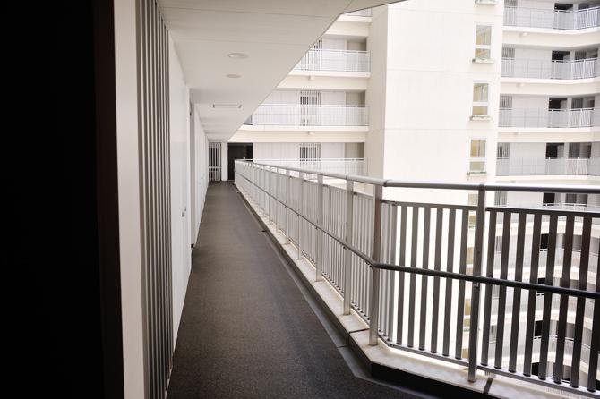 グローヴタワーの廊下