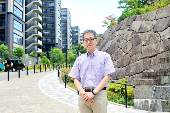 ブリリアシティ横浜磯子管理組合理事長の廣田さん
