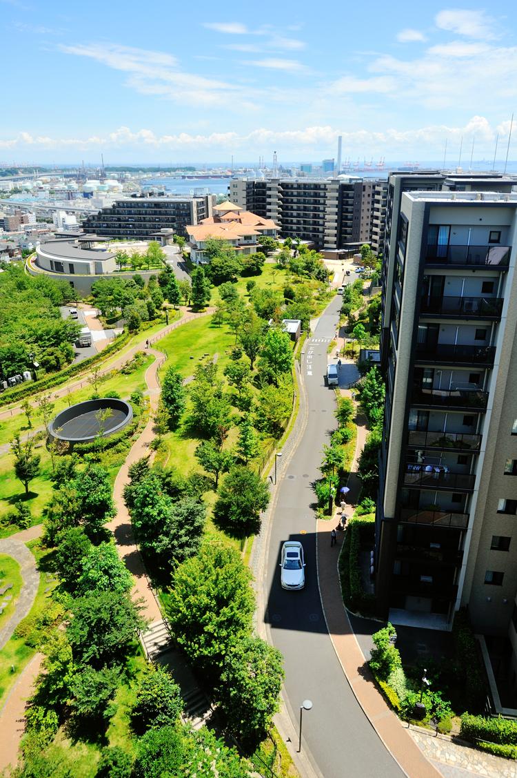 ブリリアシティ横浜磯子の外観