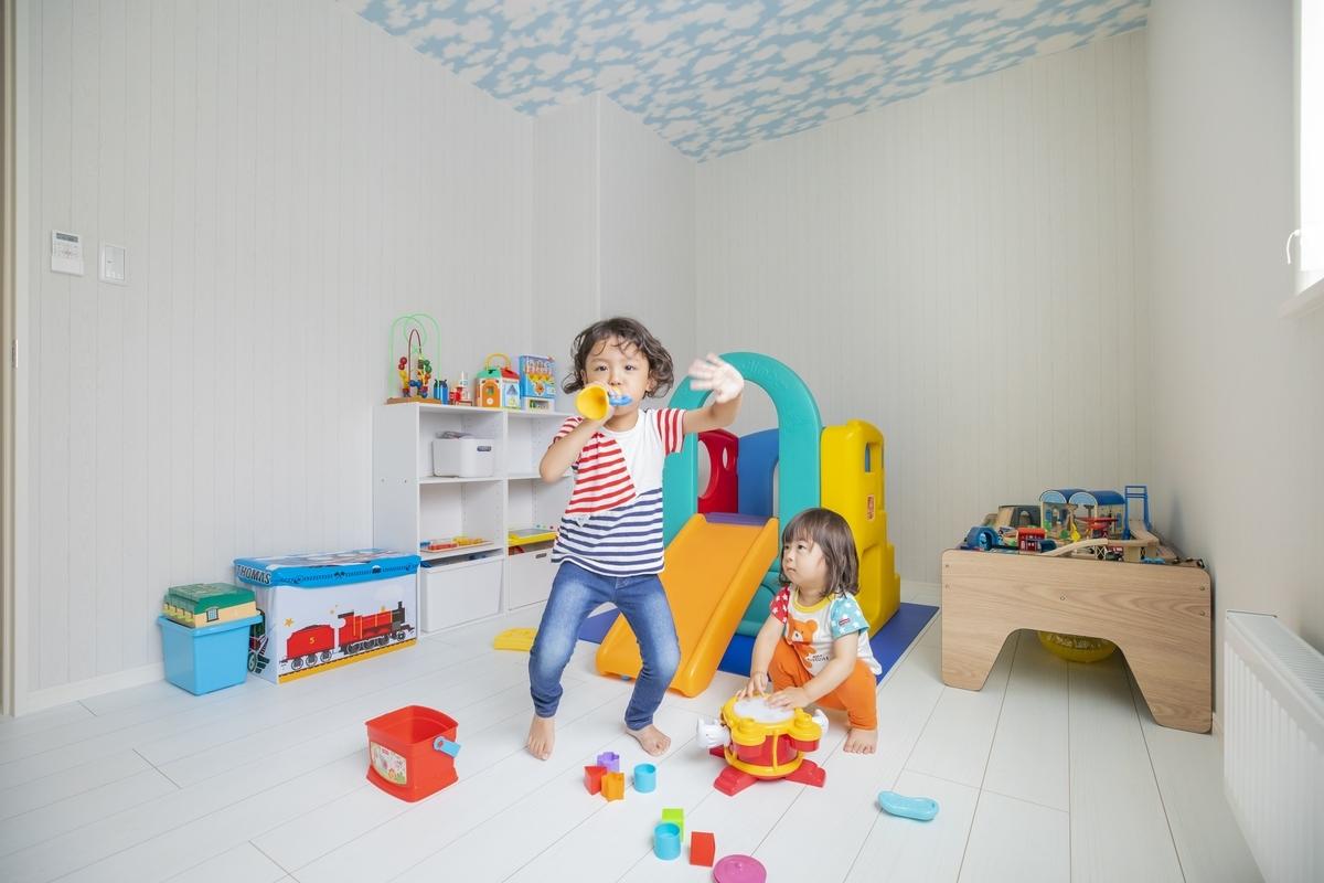 北海道の注文住宅事例:キッズルーム